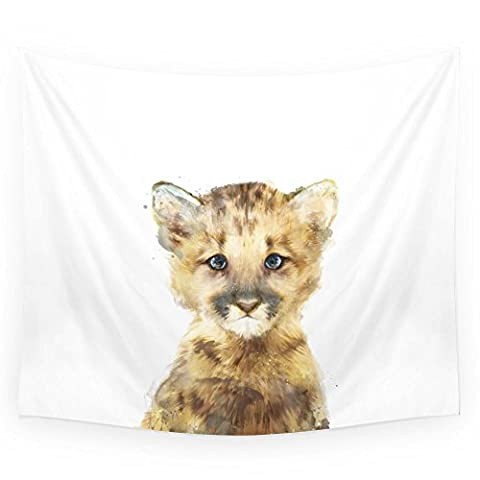 Society6 Little Mountain Lion Wall Tapestry Small: 51