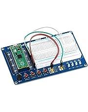 sb components Raspberry Pi Pico Board met Raspberry Pi Pico Broodplank Kit, Multifunctionele Raspberry Pi Pico Broodplank Kit