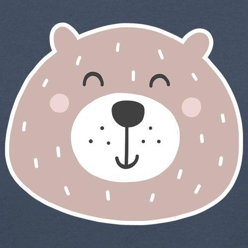 Baby//Toddler T-Shirt 3-24 Months Dressdown Smiley Face Mrs Bear