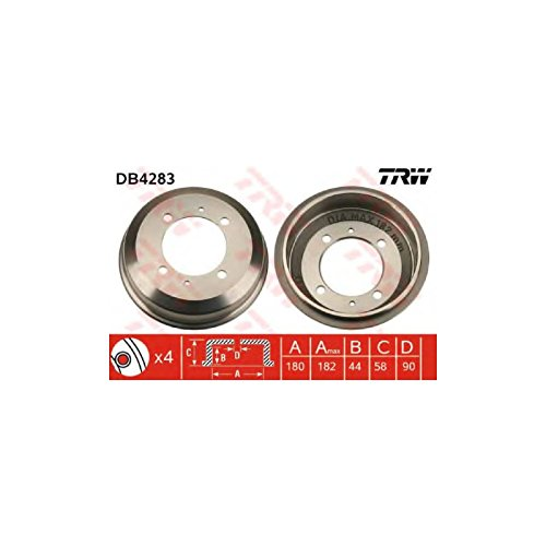 TRW DB4283 Brake Drums:
