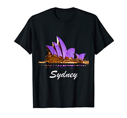 Australia Sydney T Shirt (Map Of Sydney Australia And Surrounding Area)