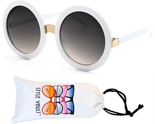 V3052-VP Style Vault Crazy Round Oversized Sunglasses (S2183V - Sunglasses 1960s