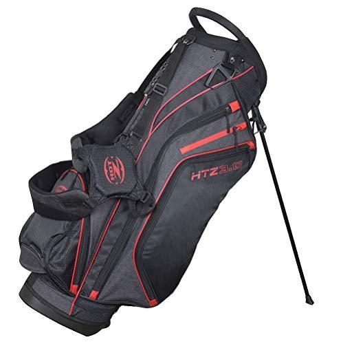 (Hot-Z Designer Series 3.0 Stand Bag Black/Red/Grey)