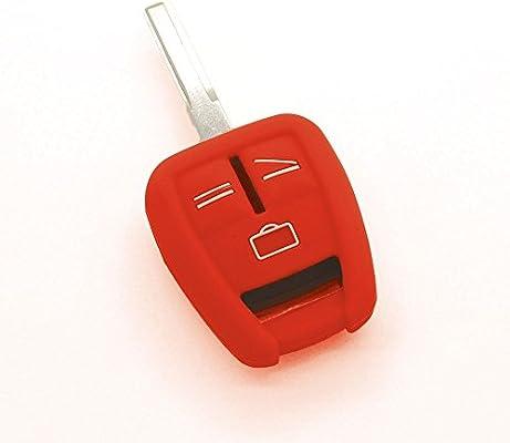 Funda de llave de silicona 3 Botones Opel Astra Corsa Zafira