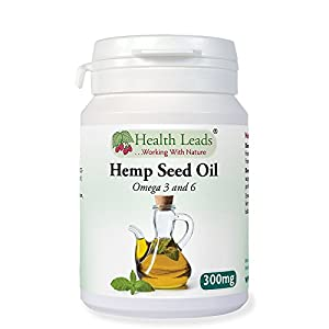 Hemp Seed Oil 300mg – 90 capsules