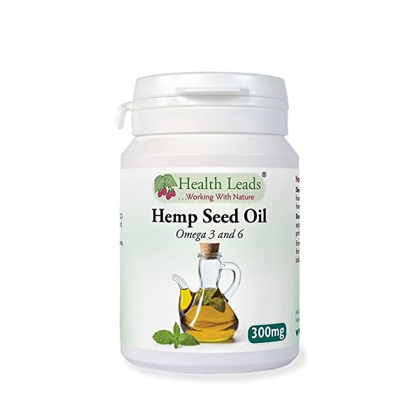 Hemp Seed Oil 300mg – 90 capsules