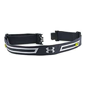 Under Armour Run Belt, Black/Black, One Size