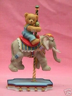 Cherished Teddies IVAN I've Packed My Trunk And I'm Ready To Go Figurine 589969