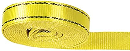 20,000 lbs MBS PROGRIP 152020 Medium Duty Tow and Recovery Strap with Flat Webbing and Reinforced Loop 20 x 2