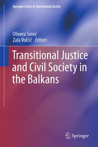 Download Transitional Justice and Civil Society in the Balkans (Springer Series in Transitional Justice) Pdf