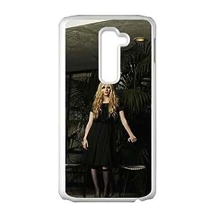 SANLSI Avril Lavigne Design Pesonalized Creative Phone Case For LG G2