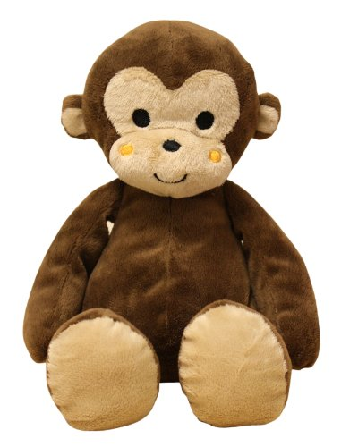 Bedtime Originals Plush Monkey Ollie, Brown -