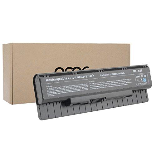 OMCreate-Laptop-Battery-for-Asus-A32-N56-N56-N56V-N56J-N56VZ-N56D-N56DP-N56J-Series-also-fits-PN-A31-N56-A32-N56-A33-N56-12-Months-Warranty