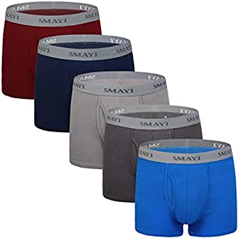 5Mayi Mens Boxer Briefs Comfort Men's Underwear Men Pack Mens Underwear S M L XL XXL