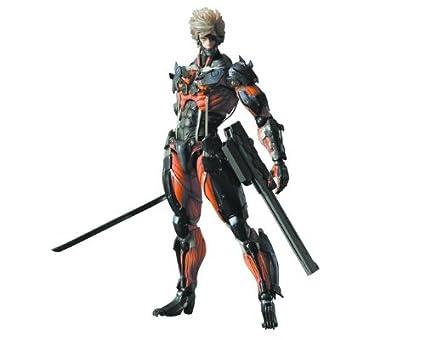 Square Enix Metal Gear Rising Revengeance Play Arts Kai Raiden Action FigureRED VERSION