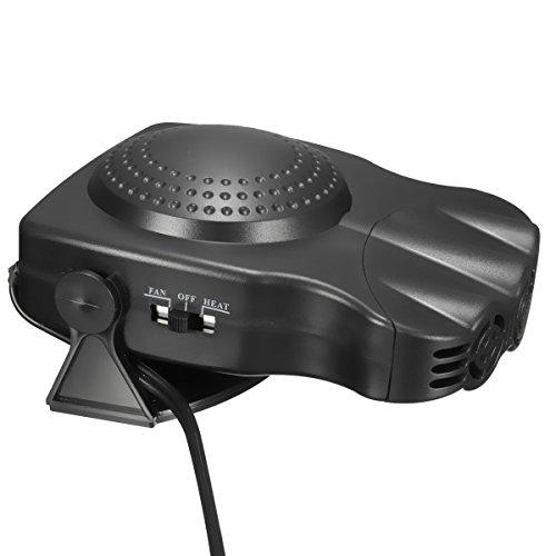 Heat Heater Defroster - Car Heater,CHELIYA Portable Winter Car Heater 2 in1 Auto Car Van Heater Defroster Cool Fan 12 Volt 150W Winter Windscreen Window Demister