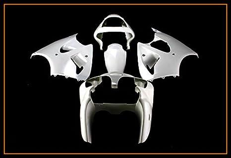 Protek - Juego completo de carenado de molde de inyección de plástico ABS sin pintar para carrocería de motocicleta: Amazon.es: Coche y moto