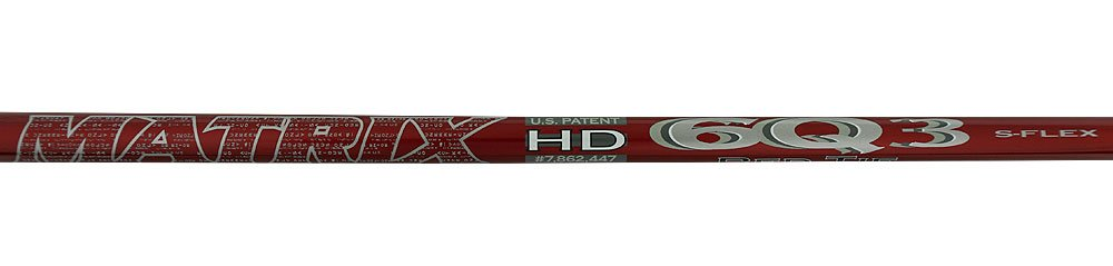 matrix- OZIK Red Tie 6q3ドライバーシャフト B01BZIDZ4I Extra Stiff Flex - .335
