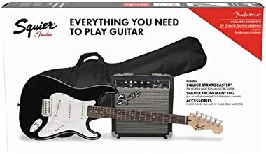 Squier by Fender Stratocaster Beginner Pack