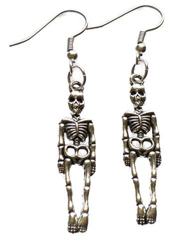 Skeleton Dangle Earrings