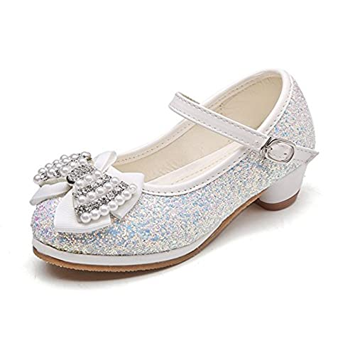 653953e7 De alta calidad YOGLY Niñas Zapatos de Tacón Princesa Sandalias para Niñas, Princesa  Zapatillas de