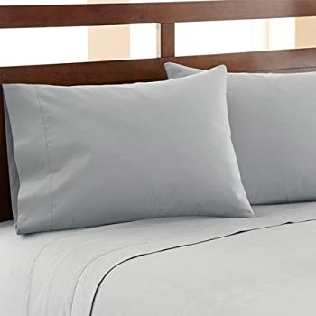 HC COLLECTION-Hotel Luxury Bed Sheets Set 1800 Series Platinum Collection, 4pc Deep Pocket,Wrinkle & Fade Resistant, Hypoallergenic (Full,Artic Ice Blue)