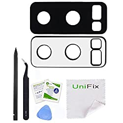 Unifix Rear Camera Glass Lens Cover Replacement (2 Pieces) For Samsung Galaxy Note 8 (All Carriers) + Repair Tools