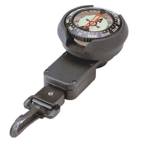 SHERWOOD SCUBA Retractable Scuba Diving Compass Ready for BCD Installation