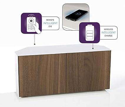 FRANK Olsen Intel 1100 TV-Eckschrank für Fernseher: Amazon.de ...