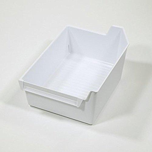 (Whirlpool Ice Maker Storage Bucket Container Bin Tray Holder W10310299)