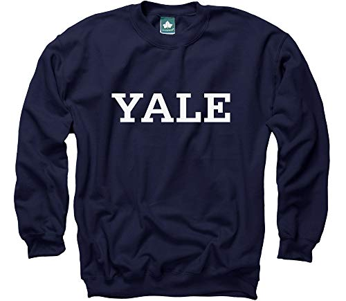Ivysport Yale University Crewneck Sweatshirt, Classic, for sale  Delivered anywhere in USA
