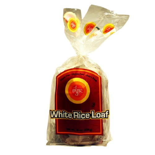Ener-G Foods White Rice Loaf, 16-Ounce Packages (Pack of - Free Rice Dairy