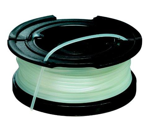 Black-Decker-Vollautomatische-Einzelfadenspule-10-Meter-Lnge-Fadendurchmesser-15mm-fr-Rasentrimmer-A6481