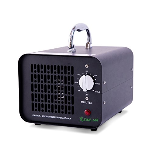 Commercial Ozone Generator – 6000 mg/h | Professional O3 Air Purifier, Ozonator and Ionizer | Heavy Duty Air Cleaner, Deodorizer and Sterilizer | Best for Odor Stop Control | Alpine Air - Professional Air Purifier