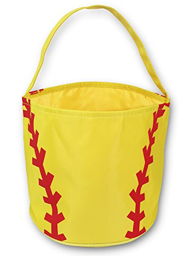 Softball Easter Halloween Basket Bucket Snack Bags Children Kids Practice -