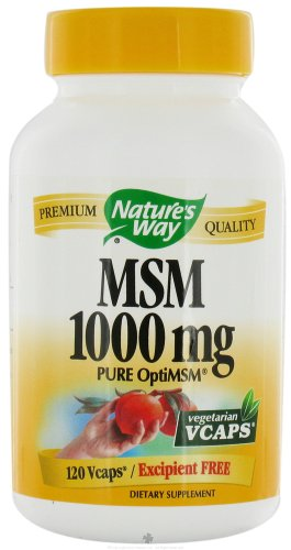 Nature's Way Msm 1000 Mg Veggie Caps 120 Caps ( Multi-Pack) by Nature's Way