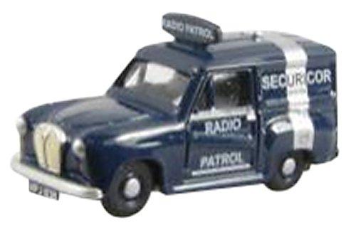 1/76 オースチンA35 バン SECURICOR RADIO PATROL EM76666