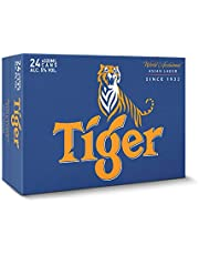 Tiger Lager Beer Can, 320ml (Pack of 24)
