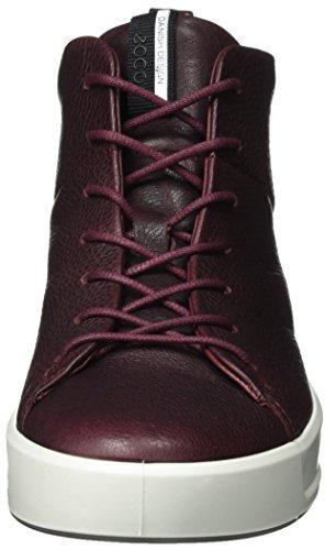Marrone Sneaker Soft Ladies Collo ECCO Bordeaux 8 a Alto Donna 18twwpq