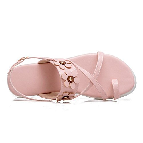 Scarpe rosa Sandali Slingback Donna TAOFFEN qxP8tn18