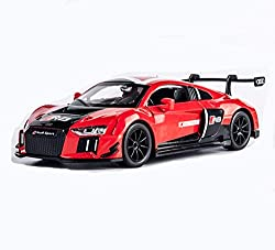 GYZS-TOY Audi R8 Simulation Racing Model Children's Alloy Pull Back Car Boy Toy Car Sports Car Sound and Light Toy Car from GYZS-TOY