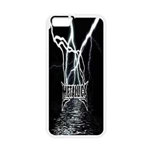 "Custom Metallica Phone Case, Custom Hard Back Cover Case for iPhone6 Plus 5.5"" Metallica"