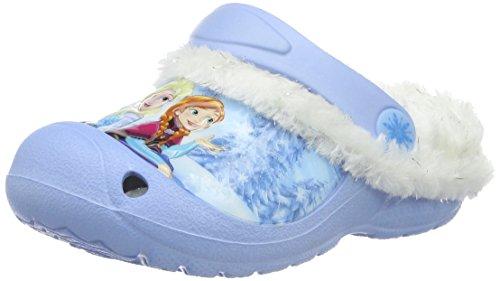 Die Eiskönigin Mädchen Girls Kids Sandals and Clogs, Blau (Lbl/Wht Mul 057), 27 EU