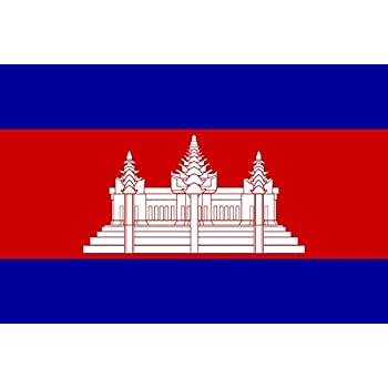 Cambodia Flag Sketch