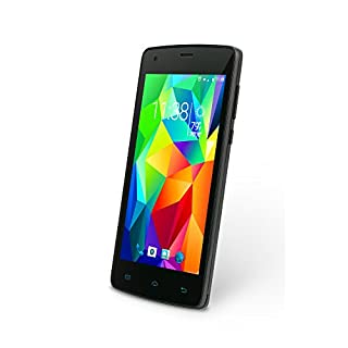 "Slide Dual Sim 4.5"" Android 6, Unlocked Smartphone, Quad Core 1GHz Processor, 8GB Storage, Nationwide 4G LTE - Black (SP4514)"