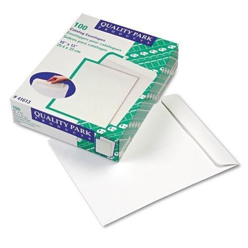 QUALITYPARK 41613 Catalog Envelope, 10 x 13, White, 100/Box