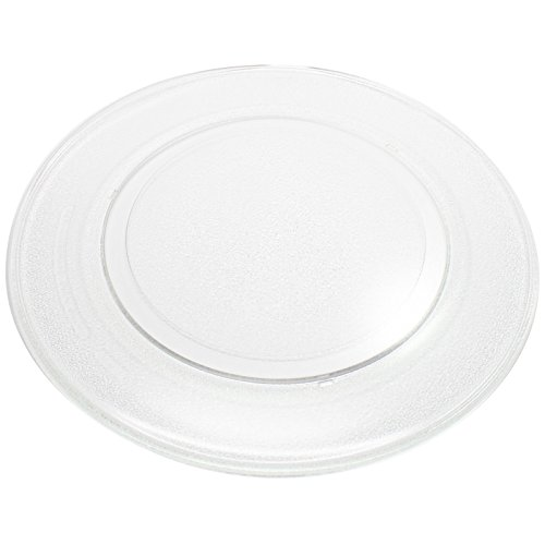 Replacement Sears / Kenmore 72162464200 Microwave Glass Plate - Compatible Sears / Kenmore 3390W1G009 Microwave Glass Turntable Tray - 14 1/8