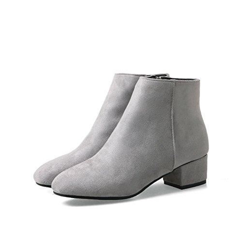 An Andku01918 - Low Neck Femme, Gris (gris), 35 Eu