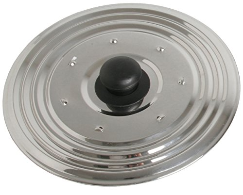 CHEF DIRECT Multipurpose Lid//Stainless Steel//Cover for Pots, Bowls, Pans with Knob (30 cm Multipurpose) ()