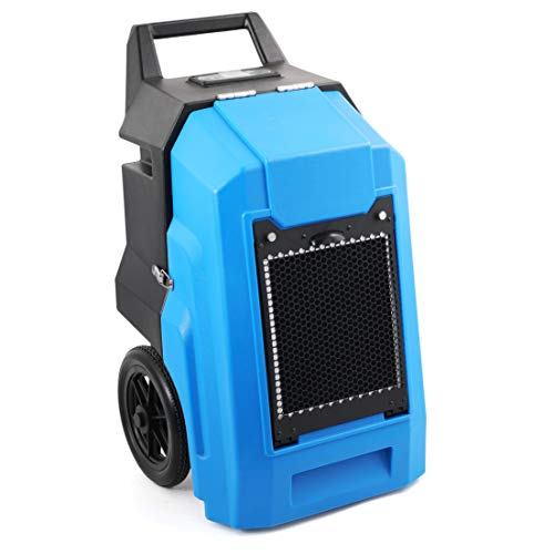 MOUNTO Commercial Dehumidifier 150 PPD, LGR Portable Dehumidifier with Pump, 2 Years Warranty, LCD Dispaly, for Clean-Up, Flood, Water Damage Restoration,Moisture